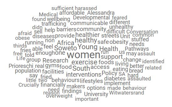 HeLTI SA: lack of exercise, lack of fresh food